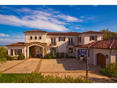 Rancho Santa Fe Single Family Home Contingent: 8049 Camino De Arriba