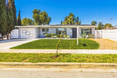 Single Family Home For Sale: 5572 Bergen St