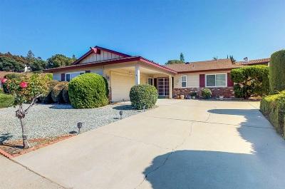 Escondido CA Single Family Home For Sale: $525,000