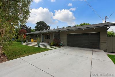 Solana Beach Single Family Home For Sale: 448 Glencrest Dr.