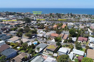 Solana Beach Multi Family 2-4 For Sale: 248-250 Barbara Ave
