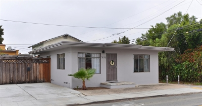 North Park, North Park - San Diego, North Park Bordering South Park, North Park, Kenningston, North Park/City Heights Single Family Home For Sale: 3177 Upas St