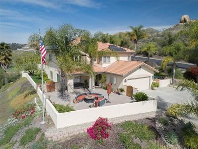 el cajon Single Family Home For Sale: 1366 Corte De Las Piedras