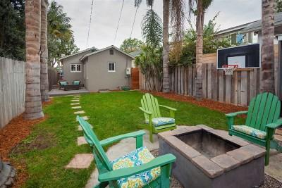 Coronado Single Family Home For Sale: 346 B Ave