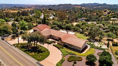 Single Family Home For Sale: 3747 Alta Vista Drive