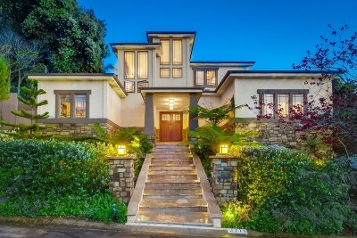 San Diego CA Single Family Home For Sale: $2,000,000