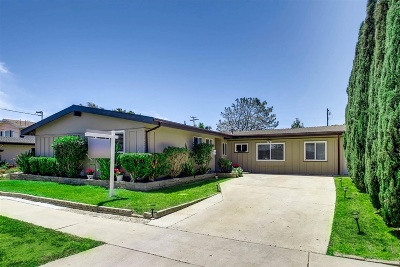 San Diego CA Single Family Home For Sale: $760,000