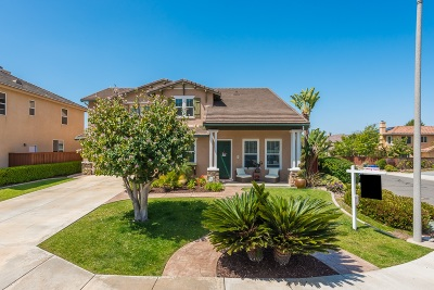 San Marcos Single Family Home For Sale: 1484 Crystal Ct