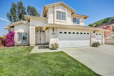 Santee Single Family Home For Sale: 8631 Clifford Heights Rd