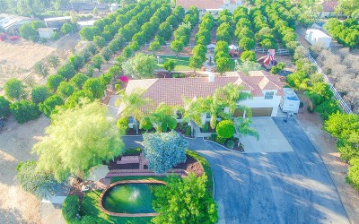 Valley Center Single Family Home For Sale: 15804 Rancho Valencia Way