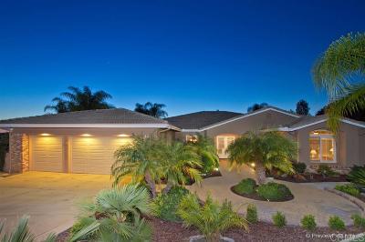 Fallbrook Single Family Home For Sale: 2749 Via Rancheros