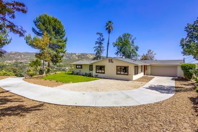 Poway Single Family Home For Sale: 15055 Eastvale Rd