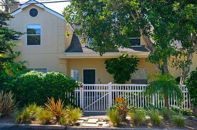 Encinitas Single Family Home For Sale: 217 S El Portal St