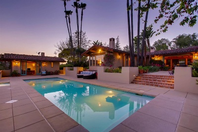 Rancho Santa Fe Single Family Home For Sale: 5138 San Elijo