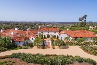Rancho Santa Fe Single Family Home For Sale: 7035 Las Colinas