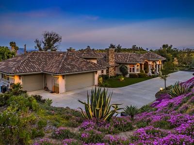 Fallbrook Single Family Home For Sale: 1176 Sierra Bonita