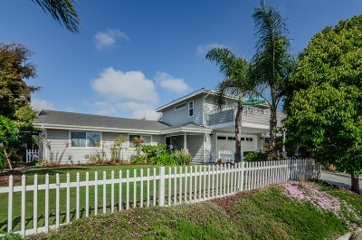 Encinitas Single Family Home For Sale: 1413 Eolus
