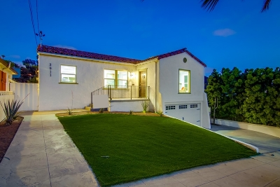 Mission Hills, Mission Hills/Hillcrest, Mission Valley Single Family Home For Sale: 3911 Clark St