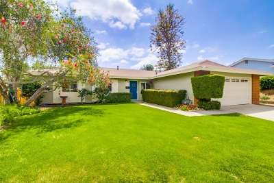 Poway Single Family Home For Sale: 13525 Orange Blossom Lane