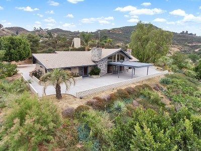 Single Family Home For Sale: 15106 Lyons Valley Road