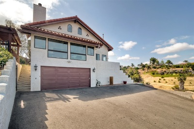 Bonsall CA Single Family Home For Sale: $949,900