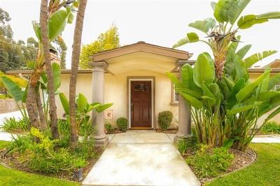 Escondido Single Family Home For Sale: 1815 Rockhoff Road