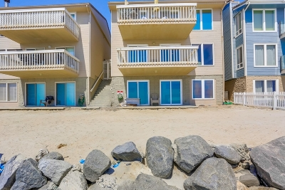 Oceanside Townhouse For Sale: 1129 S Pacific St #A