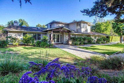 Rancho Santa Fe CA Single Family Home For Sale: $4,500,000