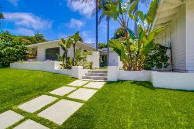 La Jolla Single Family Home For Sale: 6445 Avenida Wilfredo
