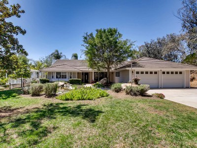 Single Family Home For Sale: 3460 Hidden Trail Drive
