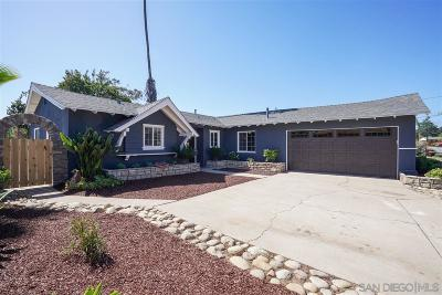 Poway Single Family Home For Sale: 14014 Frame Rd