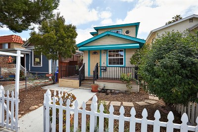 University Heights, University Heights/Hillcrest, University Heights/Mission Hills, University Heights/North Park Single Family Home For Sale: 4407 Cleveland Ave