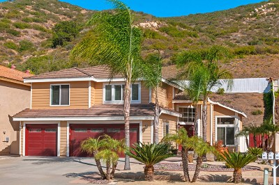 Poway Single Family Home For Sale: 15455 Garden Rd