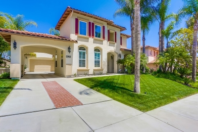 Carlsbad Single Family Home For Sale: 2962 Carrillo Way