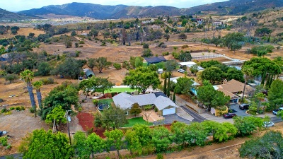 Escondido Single Family Home For Sale: 1458 Romance Road