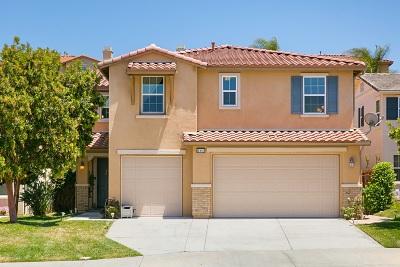 Oceanside Single Family Home For Sale: 1082 Augusta Cir