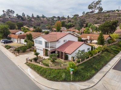 el cajon Single Family Home For Sale: 1540 Wagner Drive