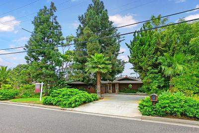 Oceanside Single Family Home For Sale: 1679 Ridgeway St