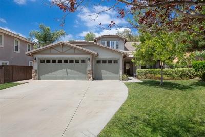 Escondido Single Family Home For Sale: 3332 Oak Forest Pl