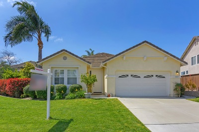 Carlsbad, Carlsabd Single Family Home For Sale: 3915 Rill Ct