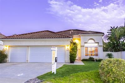 Oceanside Single Family Home For Sale: 1219 Milan Street