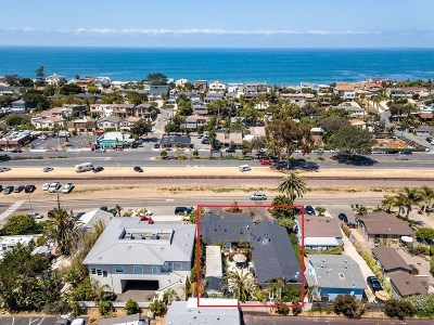 Encinitas CA Single Family Home For Sale: $2,100,000