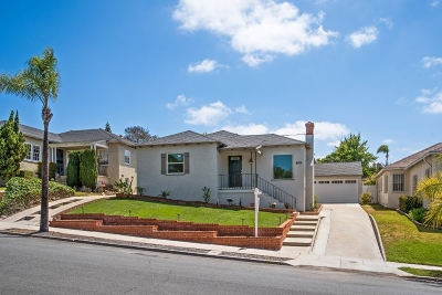 San Diego Single Family Home For Sale: 4515 Natalie Drive