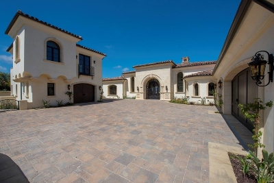 Rancho Santa Fe Single Family Home For Sale: 18386 Via Ambiente