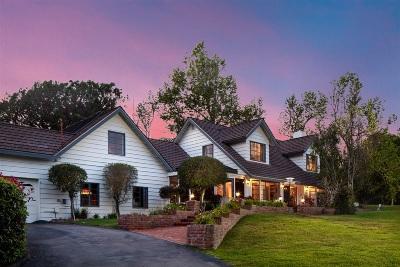 Del Mar Single Family Home For Sale: 4432 North Lane