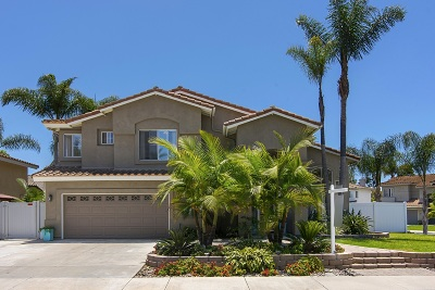 Oceanside Single Family Home For Sale: 4525 Avenida Privado