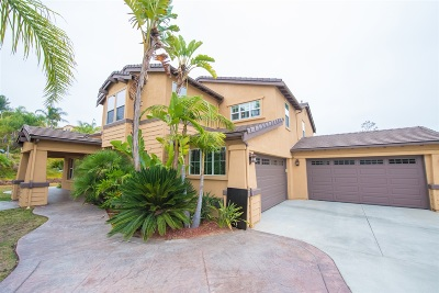 La Mesa Single Family Home For Sale: 11219 Lalani Dr