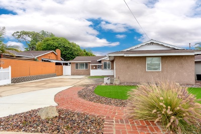 Clairemont Single Family Home For Sale: 3641 Mount Acadia Blvd