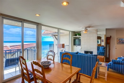 Solana Beach Attached For Sale: 190 Del Mar Shores #84