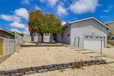 San Diego Single Family Home For Sale: 5624 Roanoke St